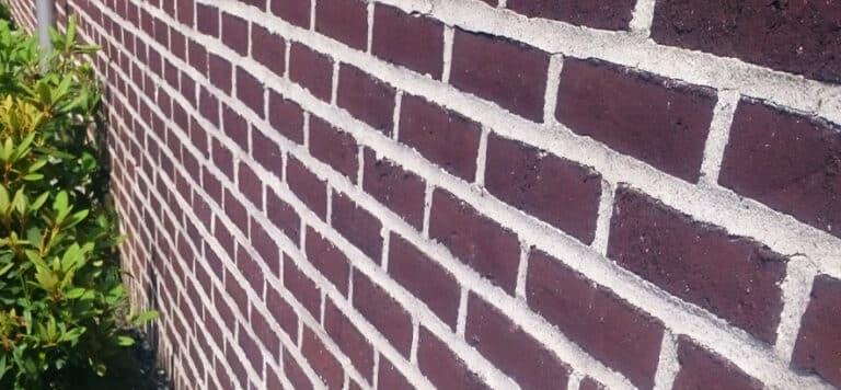 rensning af facade efter