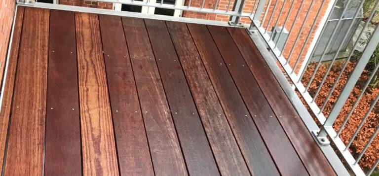 træterrasse rensning efter 1