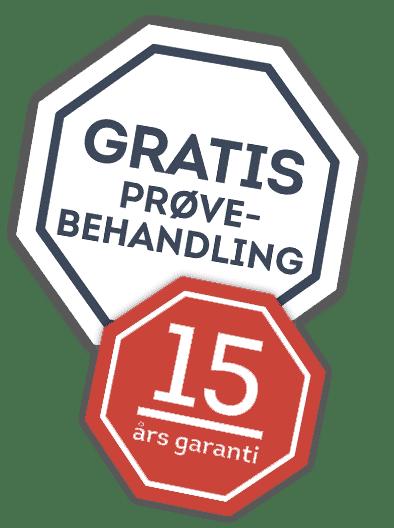 15 års garanti erhverv