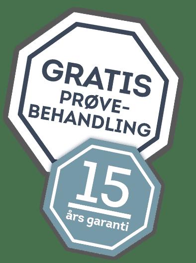 15 års garanti fliserens