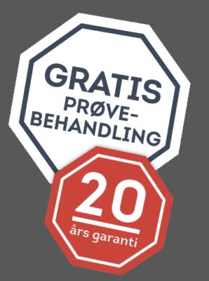 20 års garanti få fliserensning