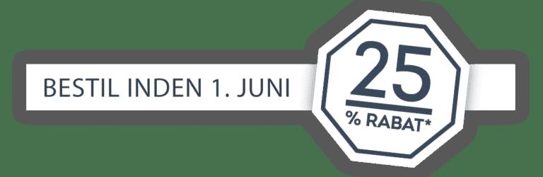 Rabat på fliserensning 1 juni